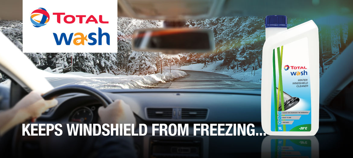 TOTAL WASH Winter Windshield Cleaner