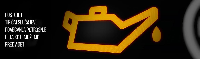 motor troši ulje