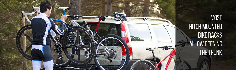Hitch Mounted Bike Racks