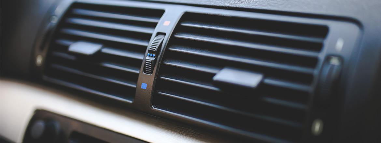 klima uređaju u autu