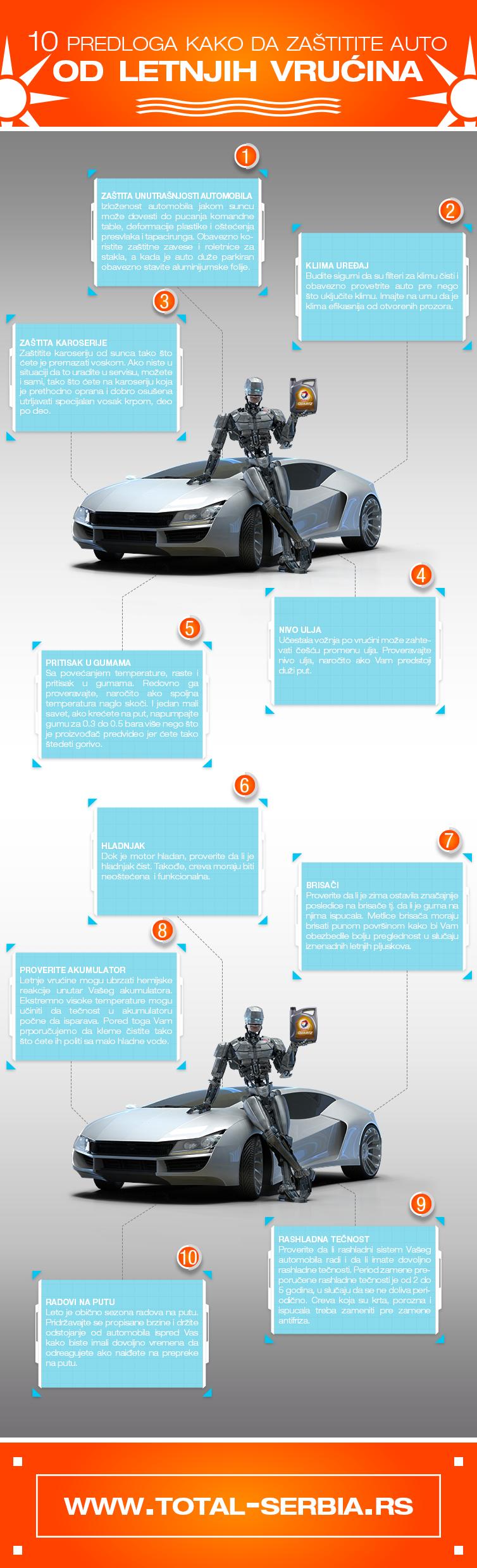 10 Predloga kako da zaštite auto od letnjih vrućina