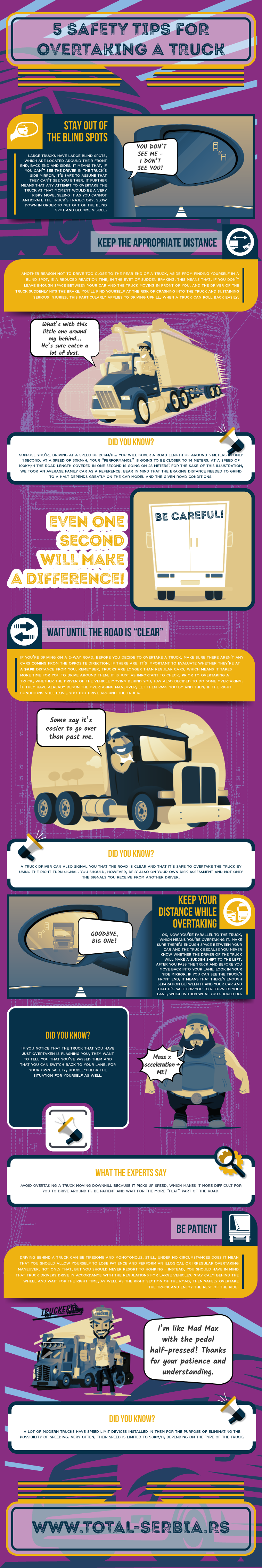 Safety Tips for Overtaking a Truck