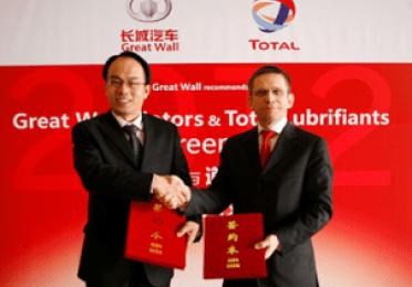 Great Wall Motors and TotalEnergies Lubrifiants