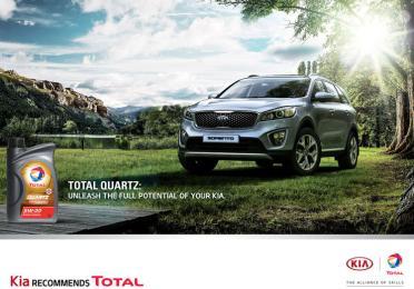 Kia Motors Corporation preporučuje Total