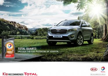 Kia Motors Corporation preporučuje Total