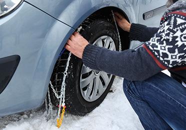 Kako da montirate lance za sneg