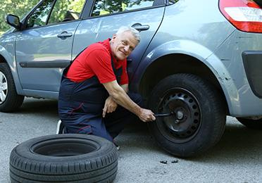 Kako da zamenite gumu na putu