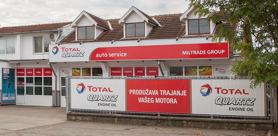 Miltrade GroupTOTAL MREŽA SERVISA